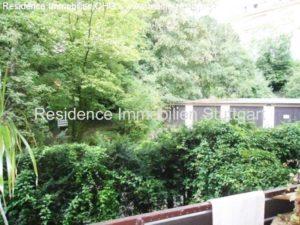 Blick vom Balkon - Immobilien Stuttgart West