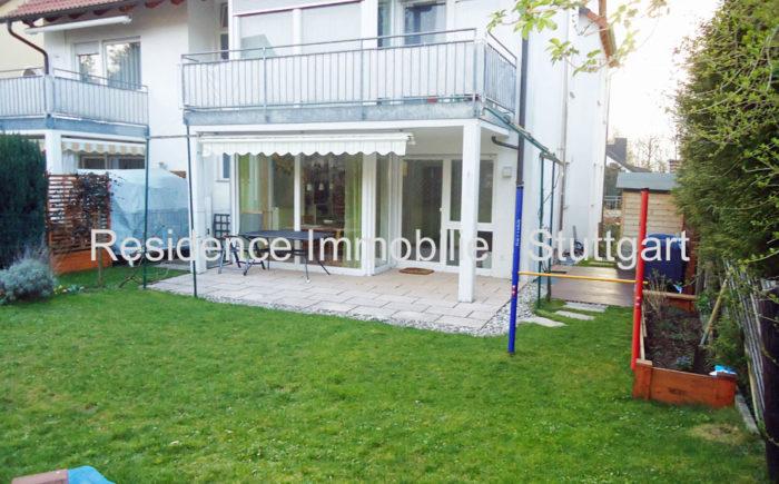 Terrasse - Wohnung - Immobilien - Stuttgart Heumaden