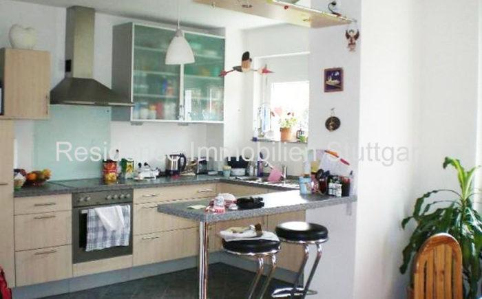 offene Küche - Wohnung in Weilimdorf