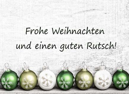 Frohe Weihnachten - Weihnachtsfrest
