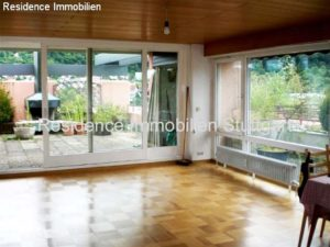 Wohnbereich - Dachterrasse - Wohnung Gerlingen