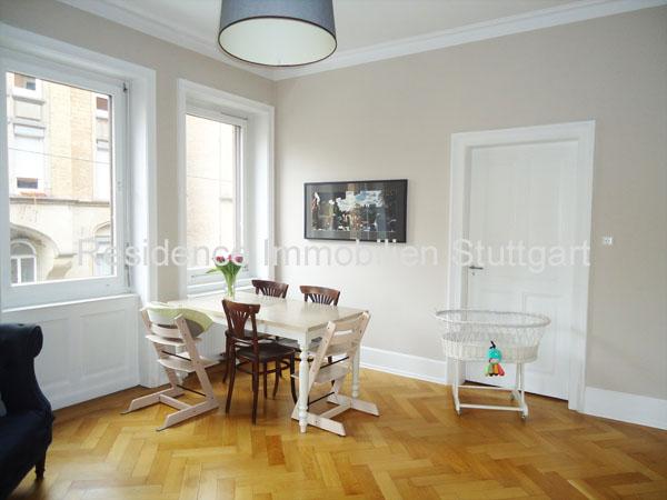 Altbauwohnung - Stuttgart - Süd - Wohnungen - kaufen - verkaufen