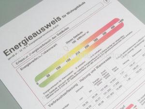 Energieausweis - Verbrauchsausweis