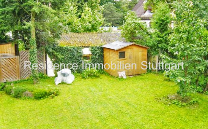 Garten - Wohnung - Stuttgart Möhringen