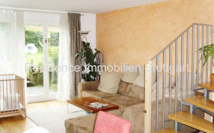 Wohnbereich - Wohnung - Stuttgart Möhringen