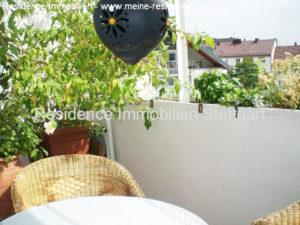 Balkon - Wohnung mieten kaufen - Stuttgart West