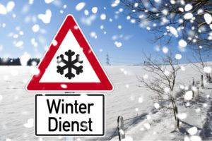 Winterdienst - Räum- und Streupflicht