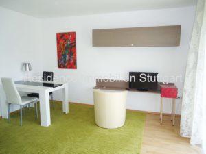 Wohnbereich - Wohnen auf Zeit - Möbliertes Wohnen - Stuttgart