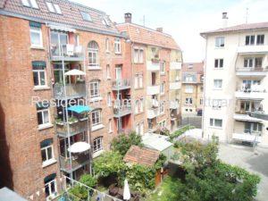Blick in den Innenhof - Wohnung - Stuttgart Süd