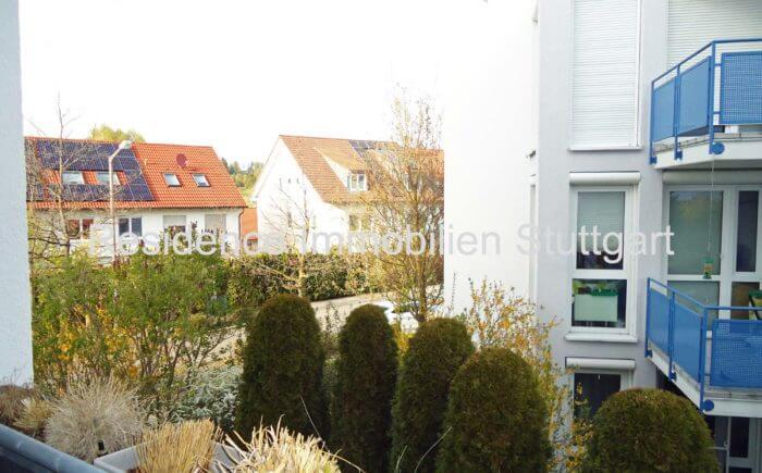 Blick vom Balkon - Wohnung - Magstadt