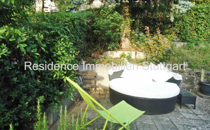Teilbereich Garten - Einfamilienhaus - Stuttgart