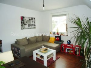 Wohnzimmer - Mietwohnung - Möhringen