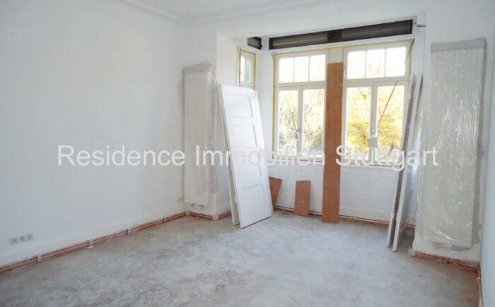 Wohnzimmer - Mietwohnung - Altbauwohnung - Stuttgart