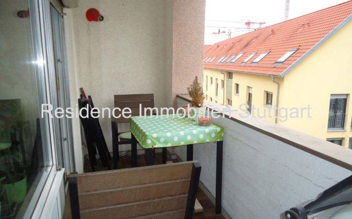 Balkon - Wohnung im Stuttgart Westen