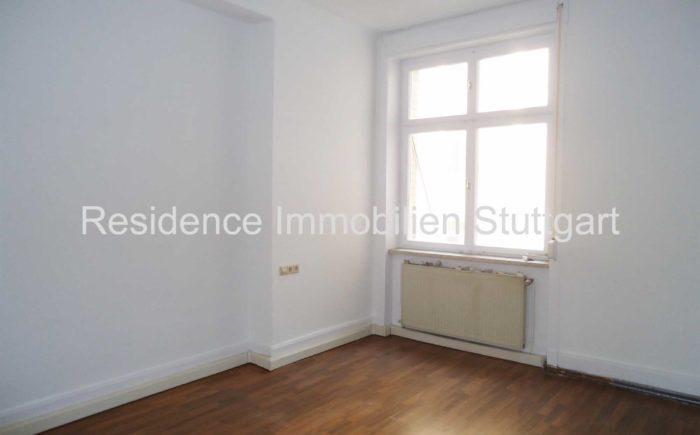 Schlafzimmer - Altbauwohnung Stuttgart Ost