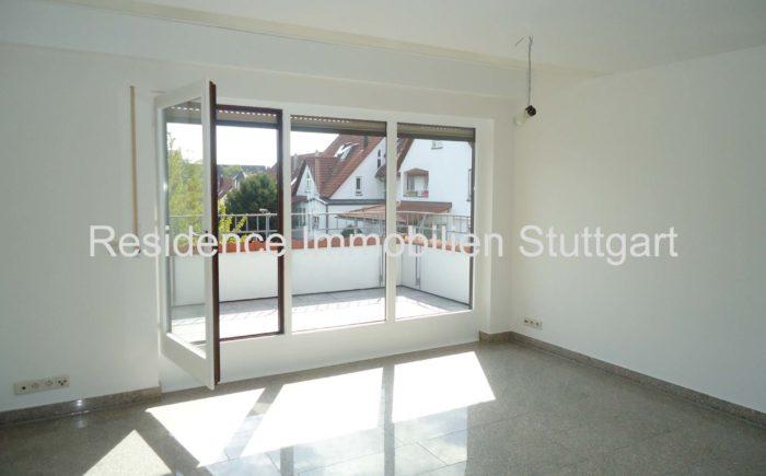 Blick zur Terrasse - Wohnung - Filderstadt Bonlanden